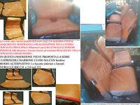 PANDA EPOCA 4x4 ,SISLEY ,750 MARRONE CUOIO bord ROSSO ALT 1 fascNERO LUC*2.2017*