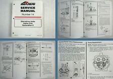 Mercury Mercruiser sterndrive units Alpha One Generation 2 Service Manual