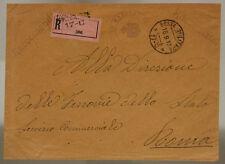 POSTA MILITARE 17 C RACCOMANDATA TIMBRO COMANDO REGG. DI MARCIA 16.8.1917 #XP346