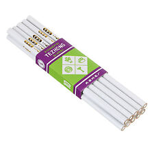 10pcs White Wood Pencil Rhinestone Picker Up Gem Jewel Bead Nail Art Craft Tool