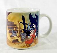 Disney Parks Mickey Mouse Fantasia Sorcerers Apprentice Dancing Brooms Mug Cup