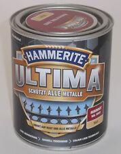 Hammerite ULTIMA MSL matt 750ml Rubinrot auch auf Zink