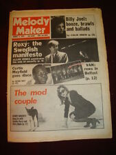 MELODY MAKER 1979 MAR 3 BILLY JOEL ROXY MUSIC CURTIS MAYFIELD DEBBIE HARRY MOD