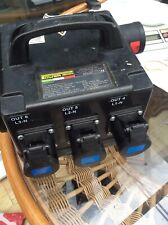 400 Volt Power Distribution Box With 6x 16 AMP Sockets Power Box Factory Ip44