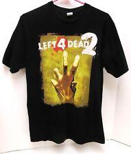 Official Left 4 Dead 2 Valve 09 E3 Promo Black Shirt Adult M FAST SHIP Xbox 360