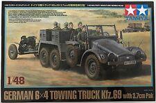 Tamiya 32580 Alemán 6x4 remolque camión kfz.69 with 3.7cm Pak 1/48 Kit de
