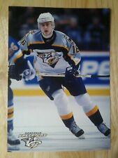 Ville Peltonen Nashville Predators postcard Sharks Panthers Jokerit Lugano