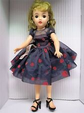"Vintage Blonde '50s Miss Revlon 18/20"" Doll w/Tag, Accessories, Excellent Cond."
