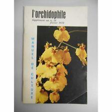 Manuel de culture des orchidées exotiques / Camard, Jean / Réf45408