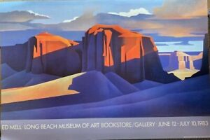 Vintage Ed Mell Long Beach Museum of Art Bookstore/Gallery June 12-July 10, 1983