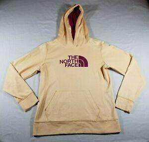 The North Face Womens Hooded Pullover Sweatshirt, Size Medium, Orange, Used