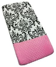Sisi Baby Design Diaper Changing Table Pad Cover - Rose Damask