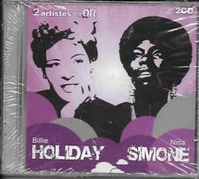 DOUBLE CD 24T BILLIE HOLIDAY / NINA SIMONE DE 2009 PIAS FRANCE NEUF SCELLE