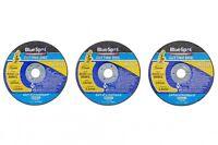 """3 X 75mm X 10mm AIR CUT OFF DISCS, METAL CUTTING 3"""" THIN SLITTING DISCS"""