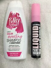 Brite Pink Liquid Chalk & Punk Pinktabulous Shampoo & Conditioner