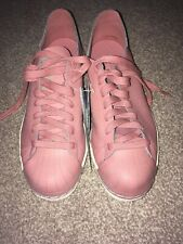 BNIB Adidas Superstar 80's Decon Ladies Shell Top Real Leather Shoes Pink Uk 6.5