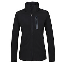 Women's Waterproof Warm Fleece Lined Soft Shell Jacket Hiking Camping Golf Coat