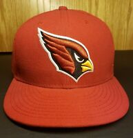 Arizona Cardinals New Era Basic 59FIFTY Fitted Hat Red 7 1/8