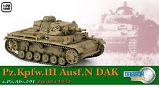 Dragon Armour 1/72 Panzer III Ausf.N DAK, s.Pz.Abt.501 Tunisia 1943 60603