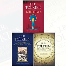 J. R. R. Tolkien 3 Books Set Pack Story of Kullervo, A Secret Vice,Lay of Aotrou