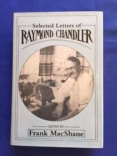 SELECTED LETTERS OF RAYMOND CHANDLER - 1ST. ED. REVIEW COPY BY RAYMOND CHANDLER