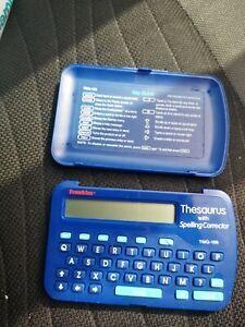 Franklin Electonic Pocket Speller and thesaurus TMQ- 106 - needs battery