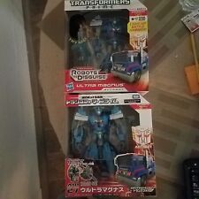 LOT - TAKARA TOMY AM-27 & HASBRO VERSIONS TRANSFORMERS PRIME - ULTRA MAGNUS