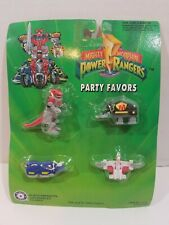 Vintage Mighty Morphin Power Rangers Party Favors New 4 Pack Mini Figures 1993