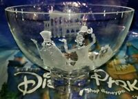 New Disney Parks Arribas Hitchhiking Ghosts Haunted Mansion Etched Crystal Bowl