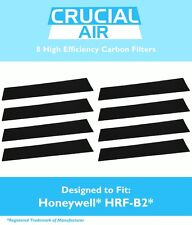 8 Honeywell Carbon Filters Fit HHT-08X HHT-090 HPA-X50 HHT-X55 16200 # HRF-B2