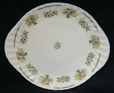 UNUSED Minton Winter Harvest English Fine Bone China Cake / Sandwich Plate