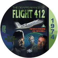 """The Disappearance of Flight 412 (1974) Mystery and Thriller CULT """"B"""" Movie DVD"""