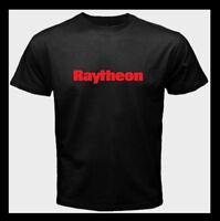 Raytheon Aerospace Logo Spacecraft Aircraft NEW Men's T-Shirt S M L XL 2XL 3XL