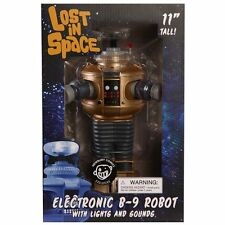 Lost In Space Electronic Lights & Sounds B9 Robot Golden Boy Edition NEW IN BOX