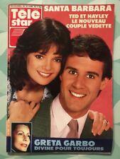 TELE STAR French n 708 Avril 1990 - SANTA BARBARA Greta GARBO Natalie WOOD