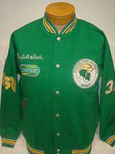 New! Norfolk State University Spartans Fraternity Twill Racing Jacket - NCAA
