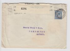WW1 1915 Cover London to Dordrecht Holland Opened by Censor 4194