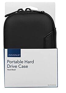 Insignia - Portable Hard Drive Case - Black - NS-PCHDDC8