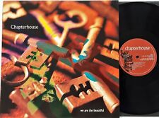 """Chapterhouse - We Are The Beautiful 12"""" EP 1993 1st UK Press Dedicated A1/B1 NM"""