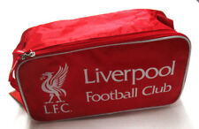 Men's Liverpool Football Club Soccer Shoes Bag, New Red White Sport Small Bag