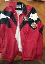 San Francisco 49ers Jacket 50th Anniversary Reebok Proline 1996 XL
