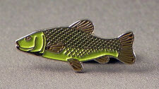 TENCH - PIN BADGE  - FISH FLY FISHING FISHERMAN RIVER - TROUT SALMON (AB-33)