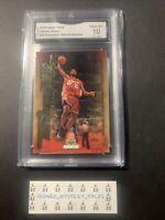 2003 Upper Deck LeBron James rookie Freshman Season Collectibles #20 GEM Mint 10