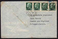 POSTA MILITARE 1943 Lettera da PM 22 a Casina/Migliara (M5)