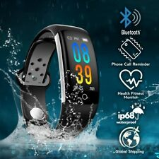 Q6 for Android & IOS Colorful Smartwatch Bracelet Health Fitness Display Monitor