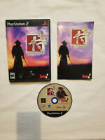 Way of the Samurai for Sony PlayStation 2 PS2 Game Complete with Manual - TESTED