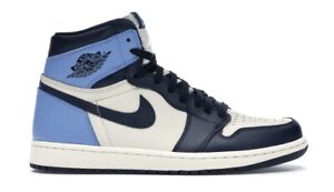 Nike Air Jordan 1 Retro High OG Obsidian Size Women's UK 6 (EUR 39)