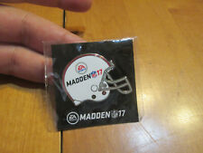 MADDEN 17 PIN EA SPORT NFL FOOTBALL GameStop Excl. New Sealed Promo AUTHENTIC