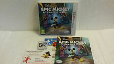 Jeu Vidéo Epic Mickey : Power Of Illusion DS / LITE DSI XL 3DS Complet VF Disney