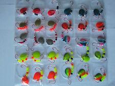 30 Spinner Rigs Leech Minnow Crawler Harness Walleye, Bass, Pike Colorado Blades